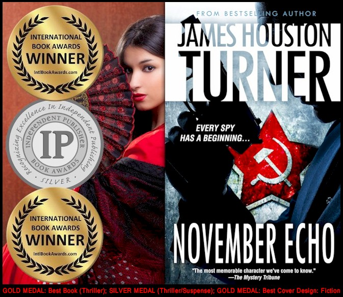 November Echo, Gold Medal (Best Book: Thriller), 2014 International Book Awards.