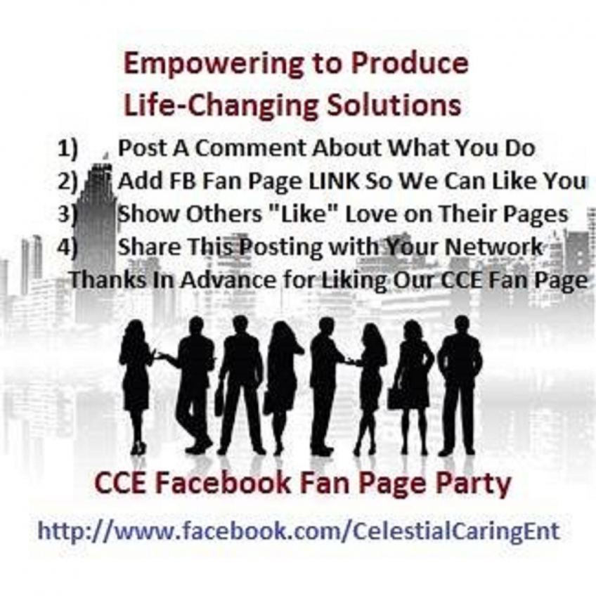 CCE Fan Page Party