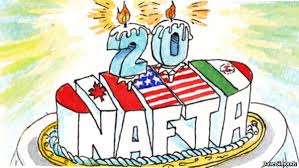 NAFTA's 20th Birthday!
