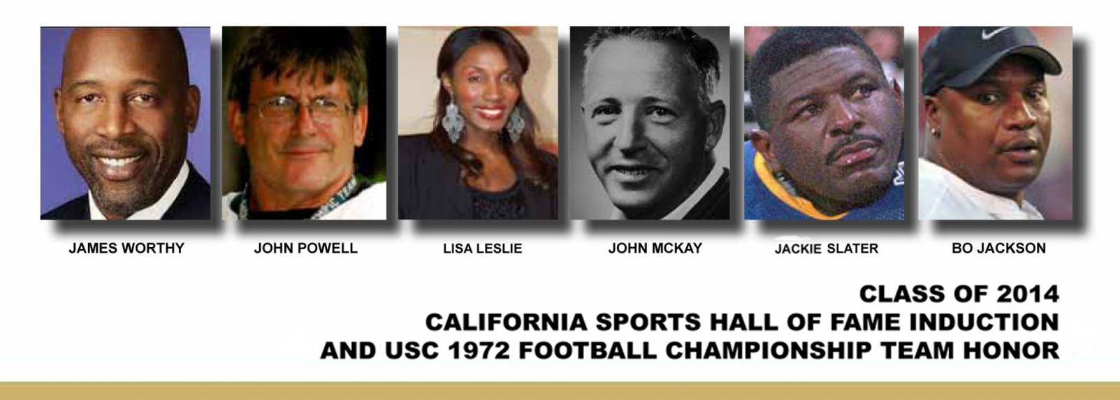 California Sports Hall of Fame 2014 Inductees