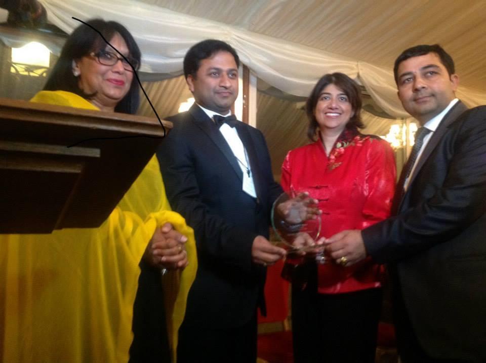 Lifetime Achievement Award by the British Parliament