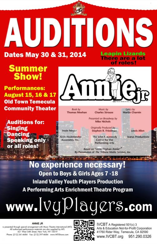Annie poster rev may small