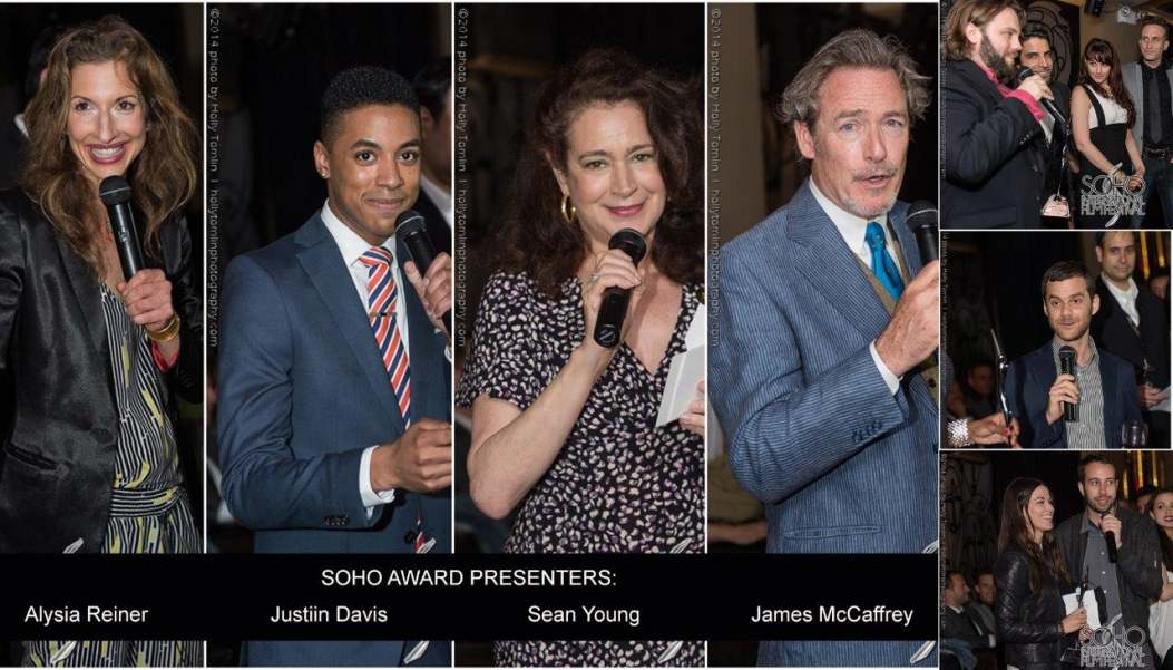 Alysia Reiner, Justiin Davis, Sean Young & James McCaffrey -Photos: Holly Tomlin