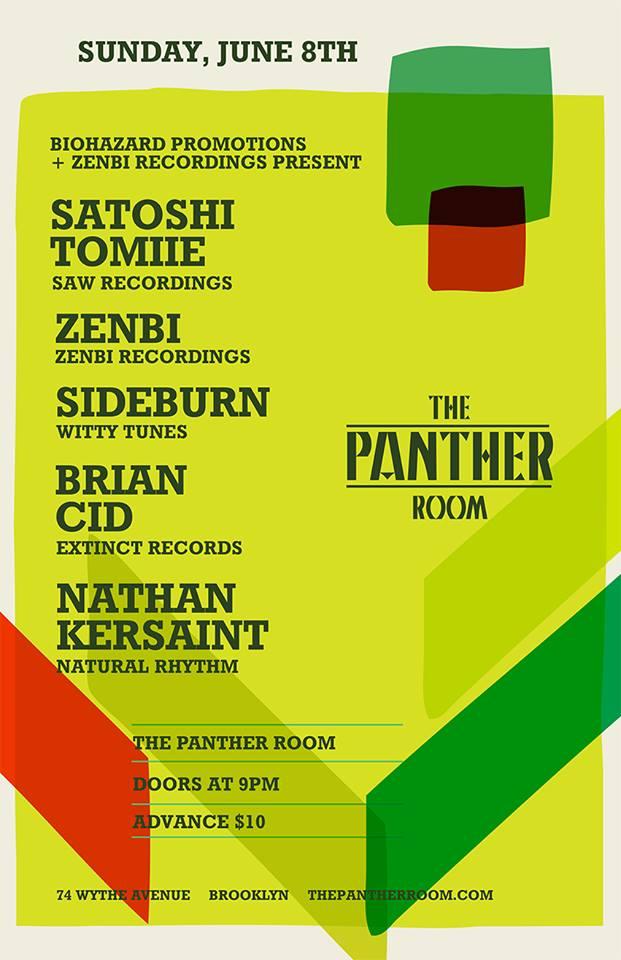 Satoshi Tomiie The Panther Room