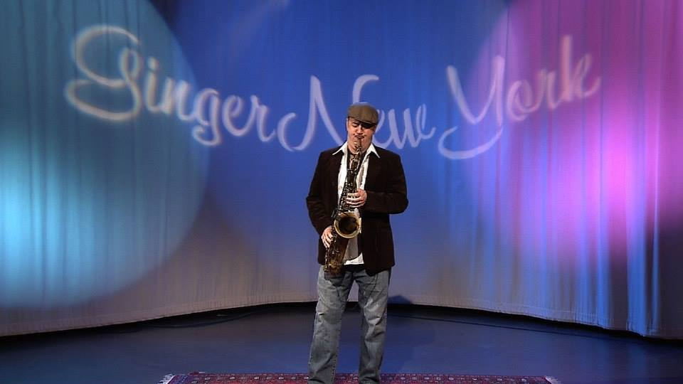 Dave Mullen Performing on the GingerNewYork TV Show, NYC