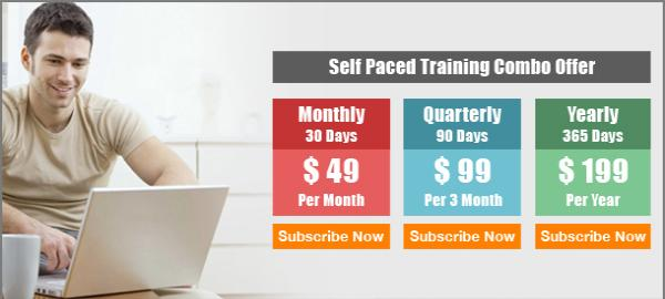 Self Paced Training Combo Offer