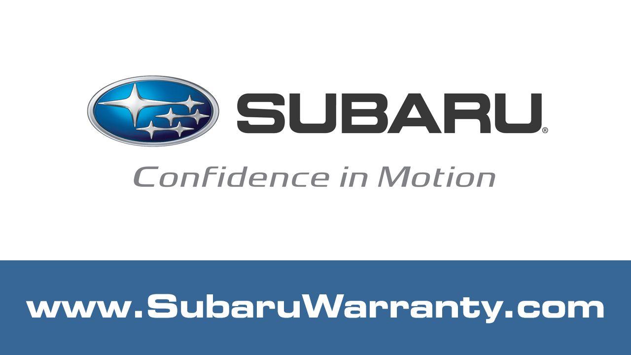 Subaru Warranty Benefits