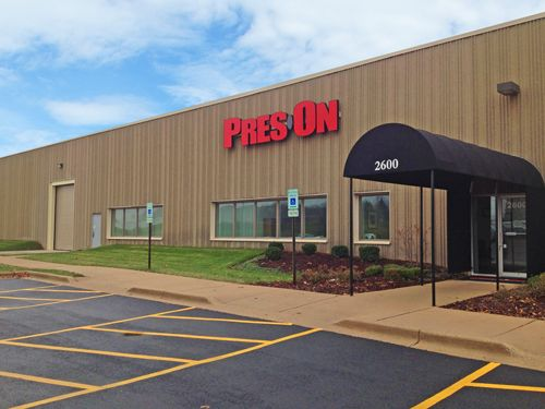 Pres-On Bolingbrook, IL Headquarters