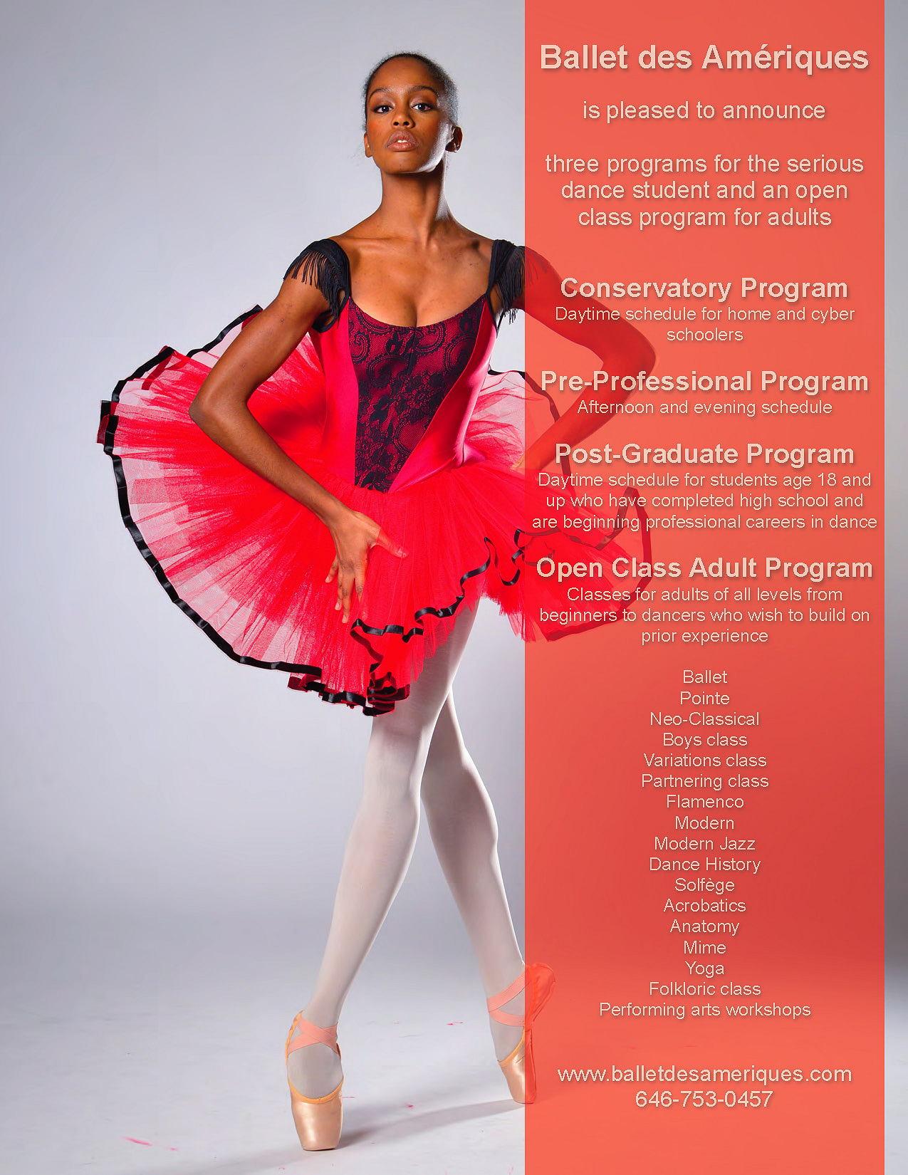 Post-Graduate Program - Ballet des Amériques