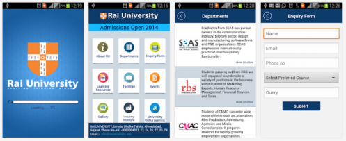 Rai University Android App