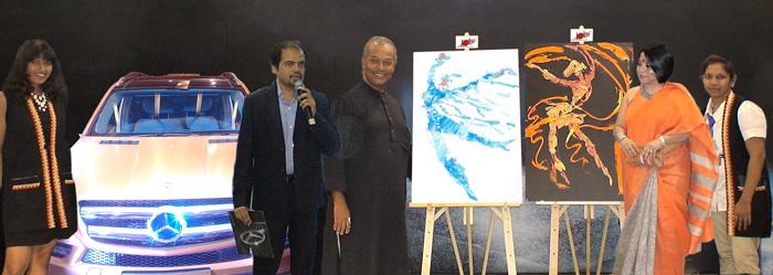 Amar Sheth MD, Shaman Wheels with Subodh Poddar, Mithu Basu and Dolna Team.