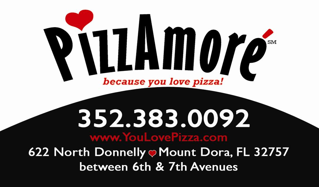 PizzAmoré of Mount Dora FL,  Event Sponsors