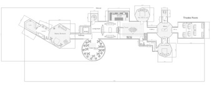 Floorplan for Rolesville High's Wesley Pritzlaff