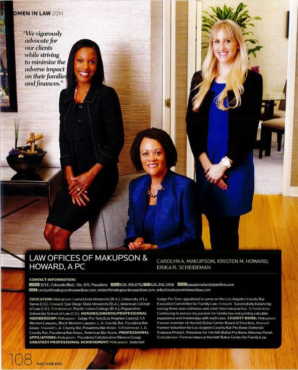 """Women in Law"" by Pasadena Magazine"
