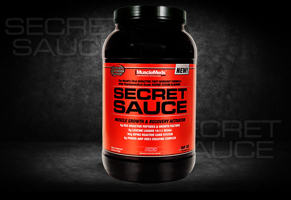 MuscleMeds Secret Sauce – Recovery of Muscle Made Easy