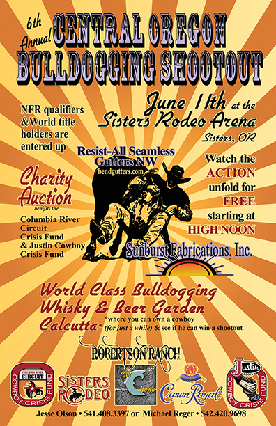 2014 Central Oregon Bulldogging Shootout And Auction