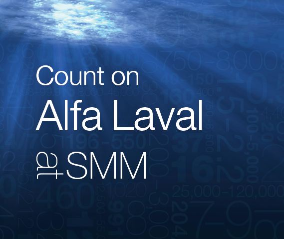 Count on Alfa Laval at SMM