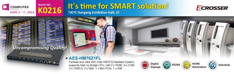 Acrosser brings you smart solution!