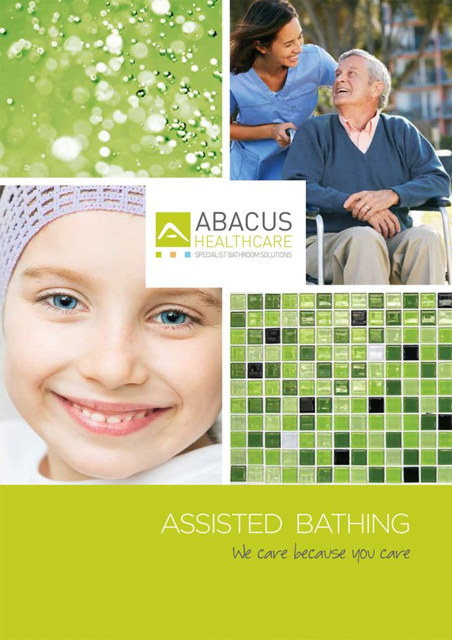 Abacus Healthcare launch new assisted bathing brochure Abacus – Healthcare Brochure