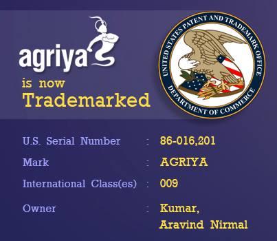 Agriya trademark