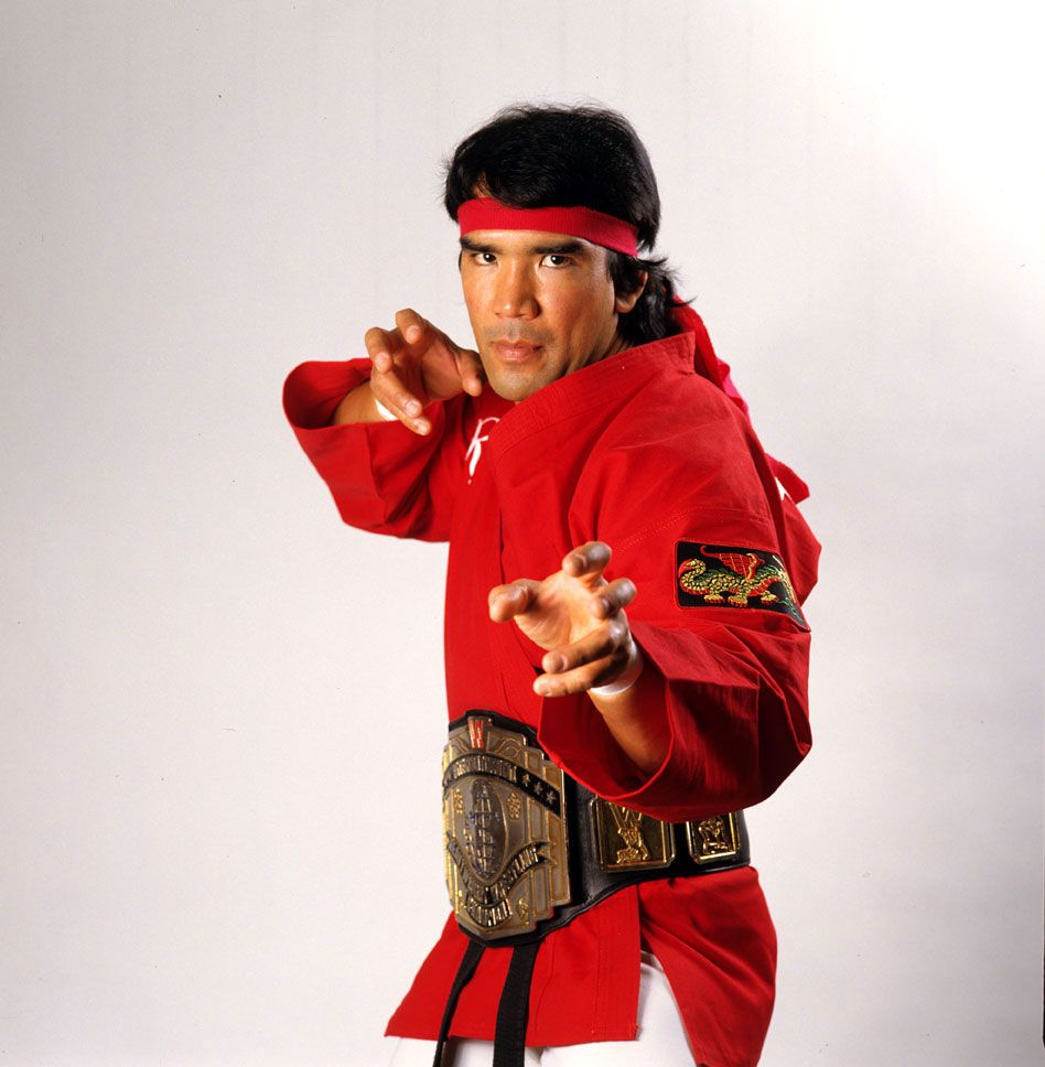 WWE® Hall of Famer Ricky 'The Dragon' Steamboat™