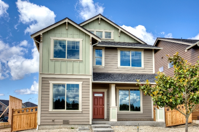 New homes at Woodbury Crossing in Olympia