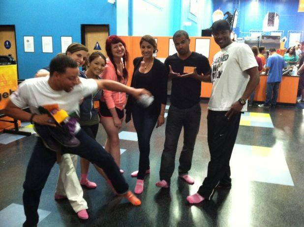 Nikou & Team Breast Cancer Research Give Back