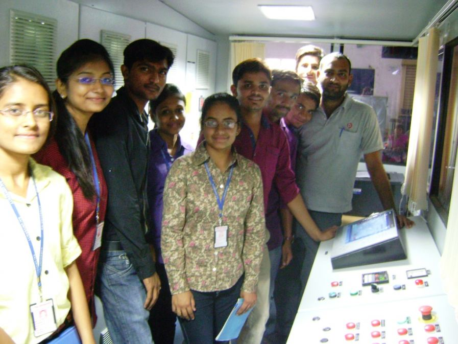 Industry visit to Prima Automation India Pvt. Ltd.