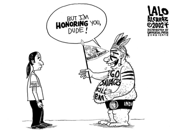 "Racist ""Redskins"" Name Does Not Honor American Indians, and Never Has"