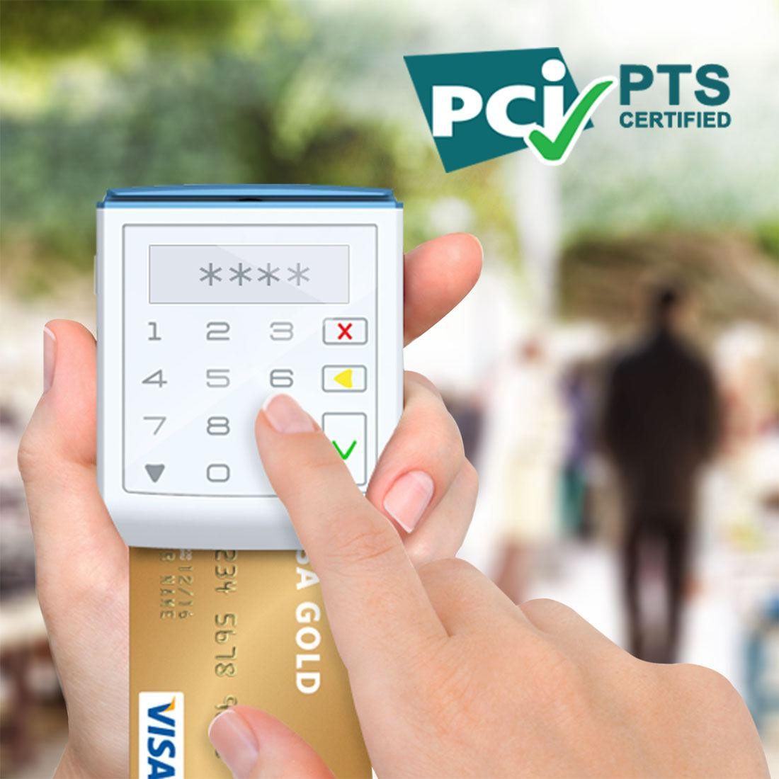 Chip-and-PIN mPOS Secures PCI PTS Certification