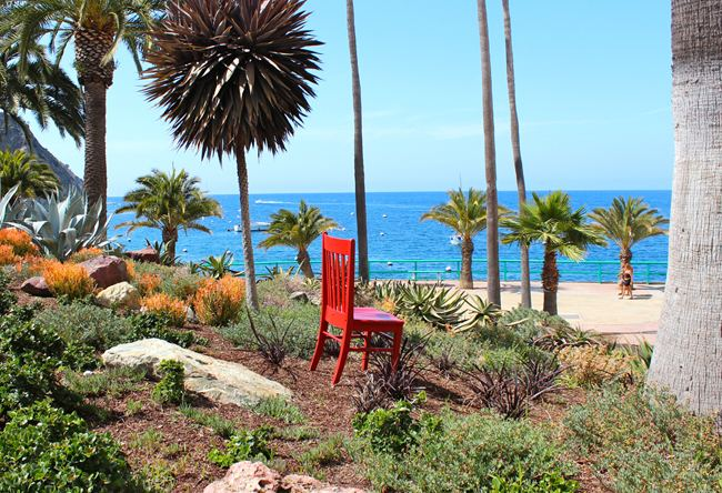 Avalon Hotel Hosts the Red Chair