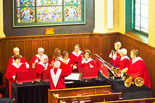 First Presbyterian Church of Lake Forest's Lakeminster Ringers