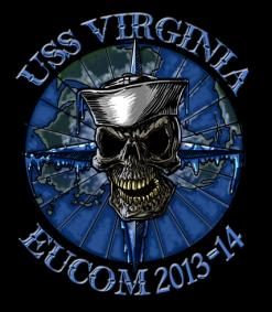 USS Virginia Shirts