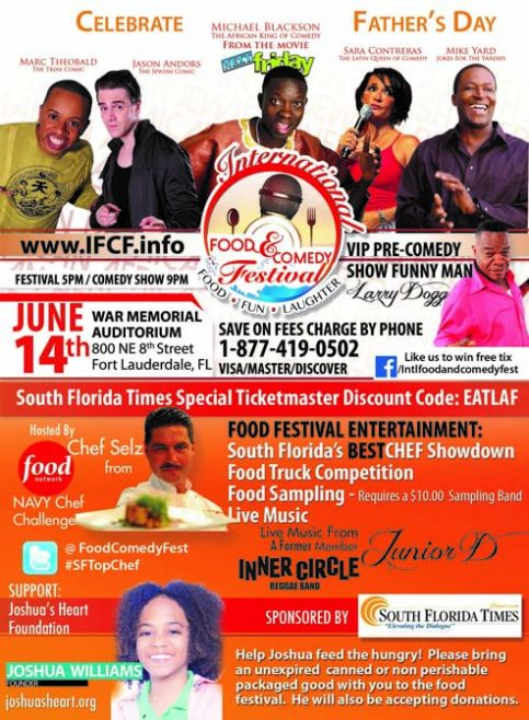 International Food & Comedy Festival