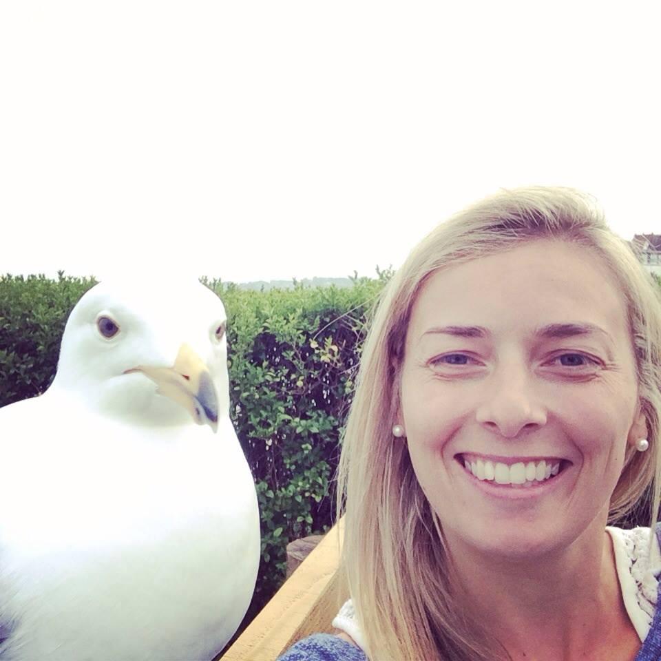 Crazy Bird Woman