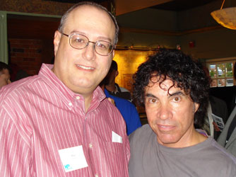 Mike Morsch with John Oates