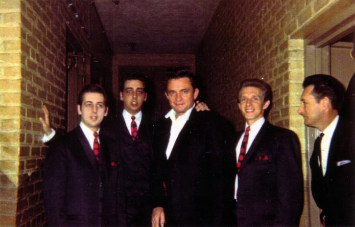 The Statler Brothers with Johnny Cash