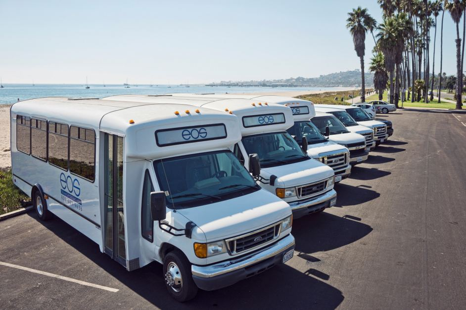 EOS Santa Barbara Wine Tours Fleet