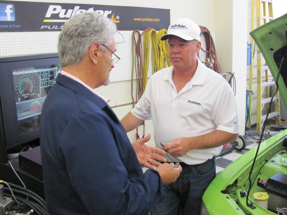 Pulstar President and CTO, Lou Camilli, speaks to Pulstar Expert, Al Unser, Jr.