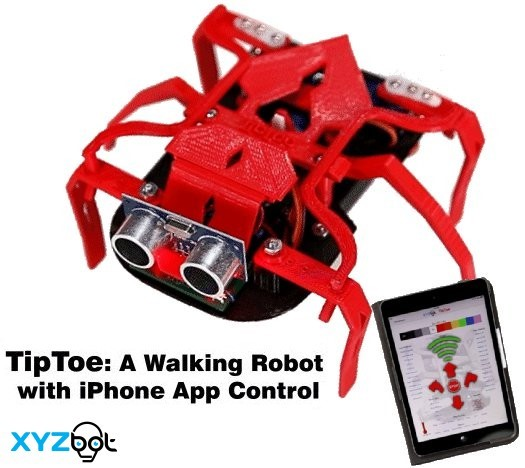 TipToe Robot on Kickstarter