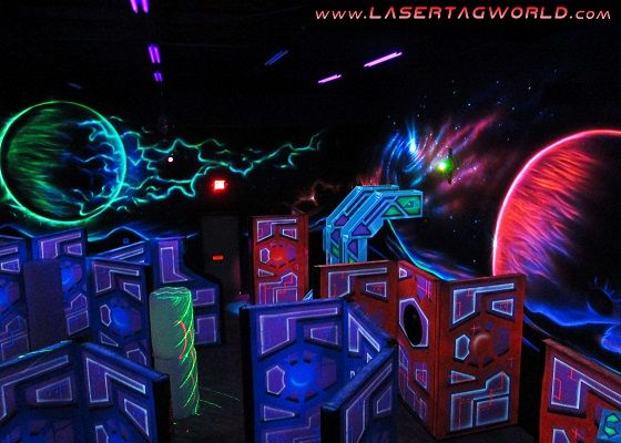 Futuristic Laser Tag Lands In Bowling Center Recreation