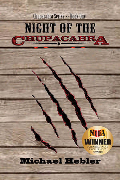 """Night of the Chupacabra"" front cover"