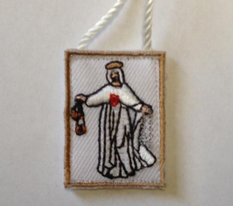 "The Mercedarian Scapular, or ""White Scapular"""