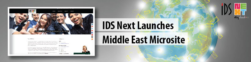 IDS Next Launches Middle East Microsite