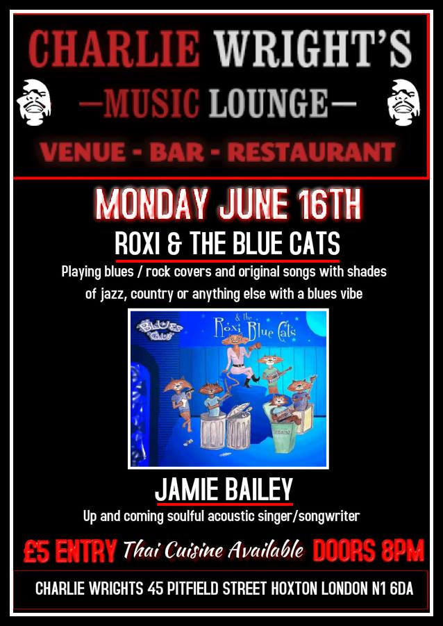 Charlie Wrights Presents RoXi and the Blue Cats