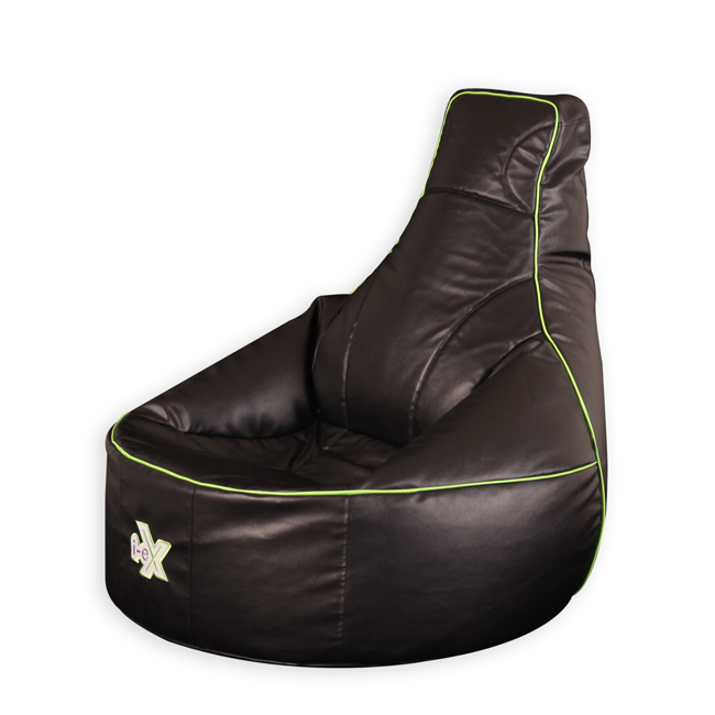 I-eX Gaming Bean Bag in lime