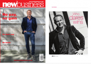 Andy Khawaja in New Business Magazine