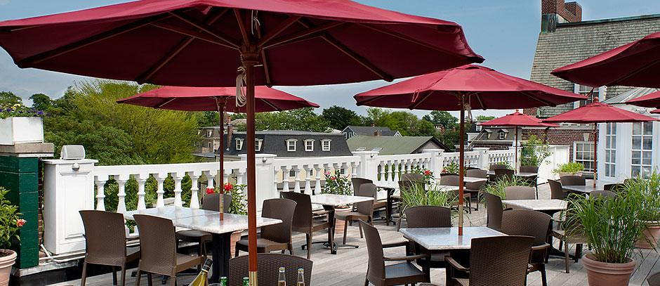 Top of Newport is the rooftop bar at Hotel Viking