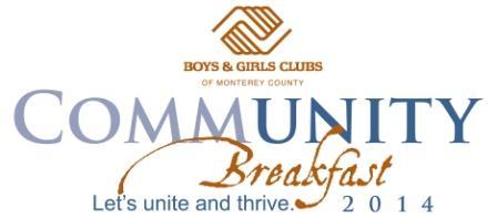 Community Breakfast 2014