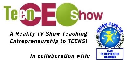 logo Teen CEO Show and TEA